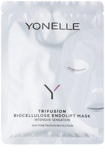 Yonelle Trifusíon mascarilla de hoja intensa para reafirmar e iluminar la piel