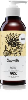 Yope Oat Milk champú natural para cabello normal sin brillo