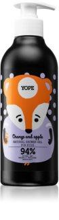 Yope Orange & Apple Kalmerende Douchegel  voor Kinderen