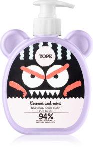 Yope Coconut & Mint flüssige Seife für die Hände für Kinder