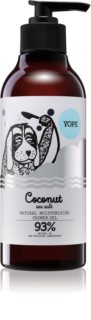 Yope Coconut & Sea Salt gel de duș natural cu efect de hidratare