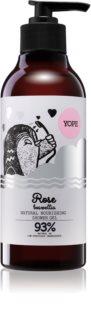 Yope Rose & Boswellia gel doccia naturale effetto nutriente