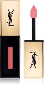 Yves Saint Laurent Vernis À Lèvres Rebel Nudes brillo y barra de labios de larga duración 2 en 1