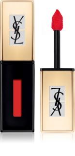 Yves Saint Laurent Vernis À Lèvres Pop Water šminka in sijaj za ustnice 2 v 1 z mokrim učinkom