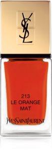 Yves Saint Laurent La Laque Couture Les Mats esmalte de uñas con efecto mate
