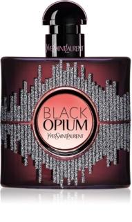 Yves Saint Laurent Black Opium eau de parfum para mujer 50 ml edición limitada Sound Illusion