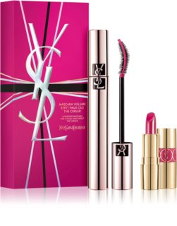 Yves Saint Laurent Mascara Volume Effet Faux Cils The Curler kit di cosmetici