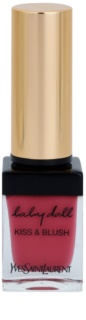 Yves Saint Laurent Baby Doll Kiss & Blush Lipstick and Blusher In One