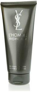 Yves Saint Laurent L'Homme gel de ducha para hombre 200 ml