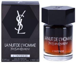 Yves Saint Laurent La Nuit de L'Homme L'Intense Eau de Parfum voor Mannen 100 ml