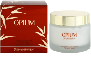 Yves Saint Laurent Opium 2009 crema corporal para mujer 200 ml