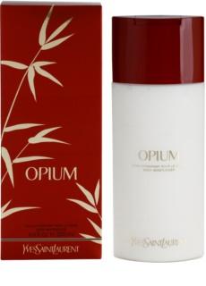 Yves Saint Laurent Opium 2009 leche corporal para mujer 200 ml