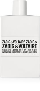 Zadig & Voltaire This Is Her! leche corporal para mujer 200 ml