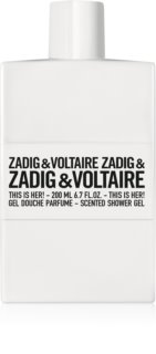 Zadig & Voltaire This is Her! Shower Gel for Women 200 ml