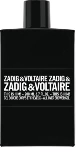 Zadig & Voltaire This is Him! gel de duche para homens 200 ml
