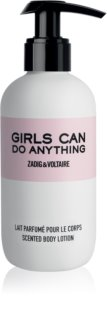 Zadig & Voltaire Girls Can Do Anything telové mlieko pre ženy 200 ml