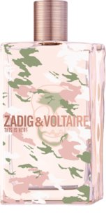 Zadig & Voltaire This is Her! No Rules Eau de Parfum for Women 100 ml