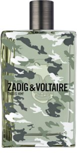 Zadig & Voltaire This is Him! No Rules Eau de Toilette for Men 100 ml