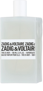 Zadig & Voltaire This Is Her! Eau de Parfum für Damen 100 ml
