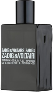 Zadig & Voltaire This Is Him! eau de toilette férfiaknak 50 ml