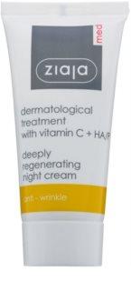 Ziaja Med Dermatological cremă de noapte antioxidantă cu efect de regenerare