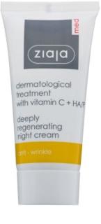 Ziaja Med Dermatological creme de noite regenerador antioxidante