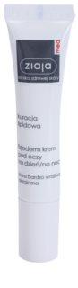Ziaja Med Lipid Care crème physiologique contour des yeux pour peaux sensibles et allergiques