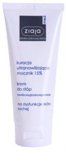 Ziaja Med Ultra-Moisturizing with Urea krem regenerujący do stóp o działaniu nawilżającym do zrogowaciałej skóry