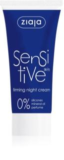 Ziaja Sensitive učvršćujuća noćna krema za osjetljivo lice