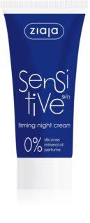 Ziaja Sensitive Åtstramande nattkräm  för känslig hud