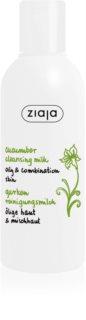Ziaja Cucumber Rengöringsmjölk  för fet och blandhud