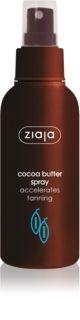 Ziaja Cocoa Butter spray corpo per accelerare l'abbronzatura