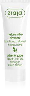 Ziaja Natural Olive pommade à l'olive pour peaux sèches à atopiques