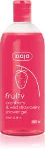 Ziaja Fruity Cranberry & Wild Strawberry Moisturizing Shower Gel