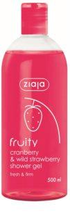Ziaja Fruity Cranberry & Wild Strawberry hydratačný sprchový gél