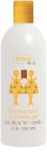 Ziaja Ziajka šampon a mycí gel 2 v 1 pro děti