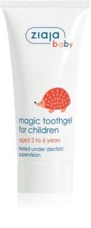 Ziaja Baby Tandgel voor Kinderen  met Fluoride