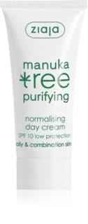 Ziaja Manuka Tree Purifying crème de jour pour peaux grasses et mixtes