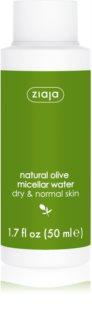 Ziaja Natural Olive Mizellenwasser  für normale und trockene Haut