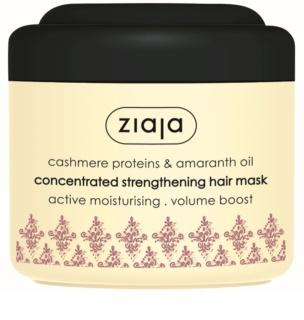 Ziaja Cashmere stärkende Maske für trockenes, gestresstes Haar