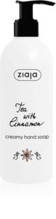 Ziaja Tea with Cinnamon cremige Seife für die Hände