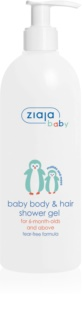 Ziaja Baby gel za tuširanje za tijelo i kosu 2 u 1