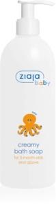 Ziaja Baby kremowe hipoalergiczne mydło dla dzieci od 3 miesięca życia