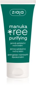 Ziaja Manuka Tree Purifying Exfoliating Night Cream for Oily and Combiantion Skin