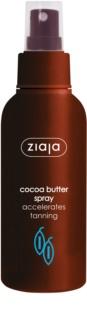 Ziaja Cocoa Butter spray pentru corp pentru accelerarea bronzului