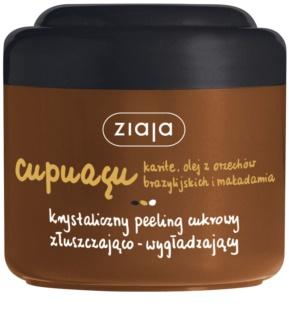 Ziaja Cupuacu kryštalický cukrový peeling