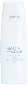 Ziaja Goat's Milk eine Crem zum Schutz von Händen und Nägeln