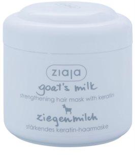 Ziaja Goat's Milk stärkende Maske für trockenes und beschädigtes Haar