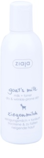 Ziaja Goat's Milk Reinigungsmilch + Hauttoner 2 in 1