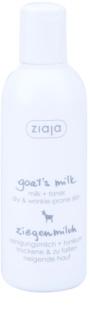 Ziaja Goat's Milk čistiace mlieko a pleťový toner 2v1